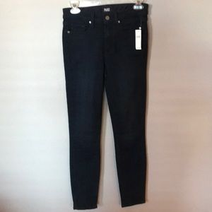 Paige high rise skinny jeans